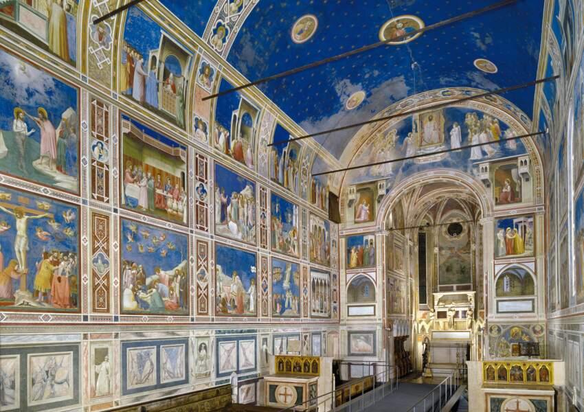 Les cycles de fresques du XIVe siècle à Padoue (Italie)