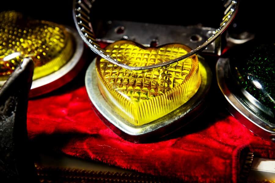 En forme de cœur