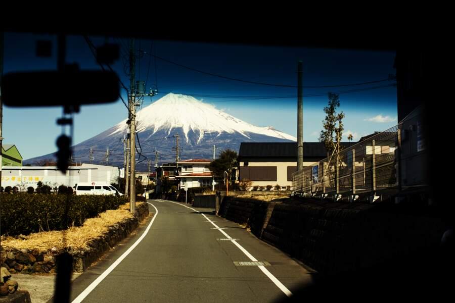 Mont Fuji en vue