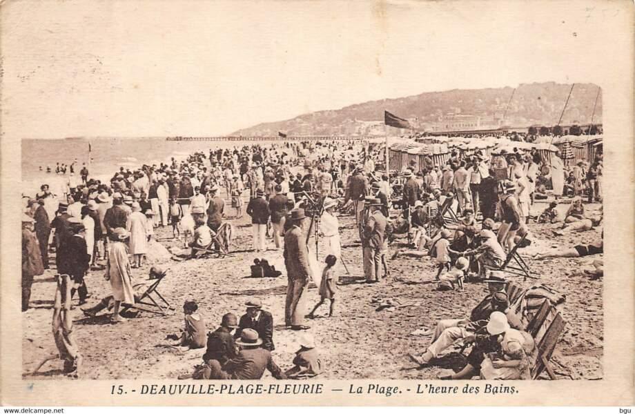 Deauville à l'heure des bains
