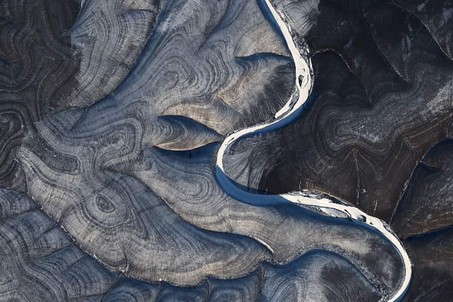 Les volutes hypnotisantes du plateau de Sibérie