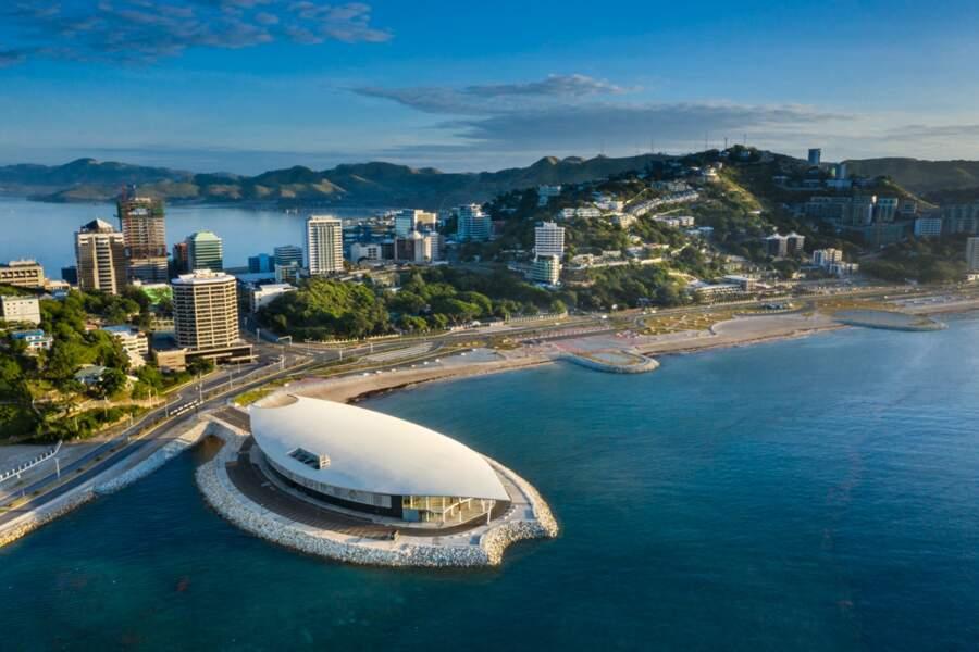 Port-Moresby montre son nouveau visage