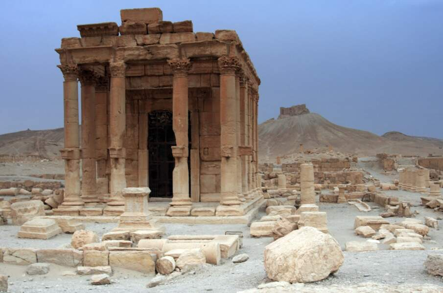 Le temple de Baalshamin
