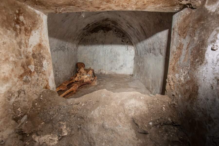 Une inhumation inhabituelle