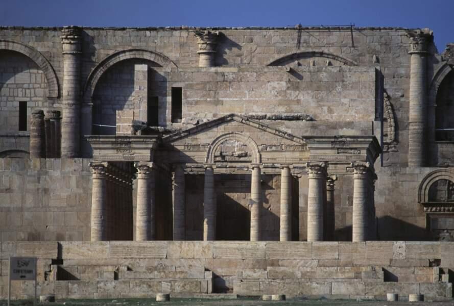 La cité fortifiée d'Hatra en Irak