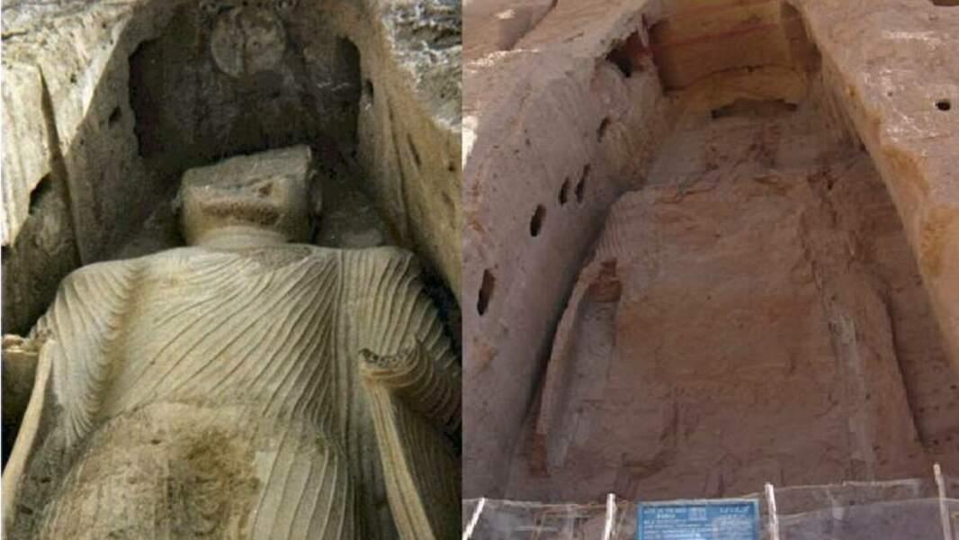 Les Bouddhas de Bamiyan