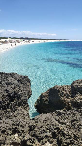 La plage d'Is Arutas