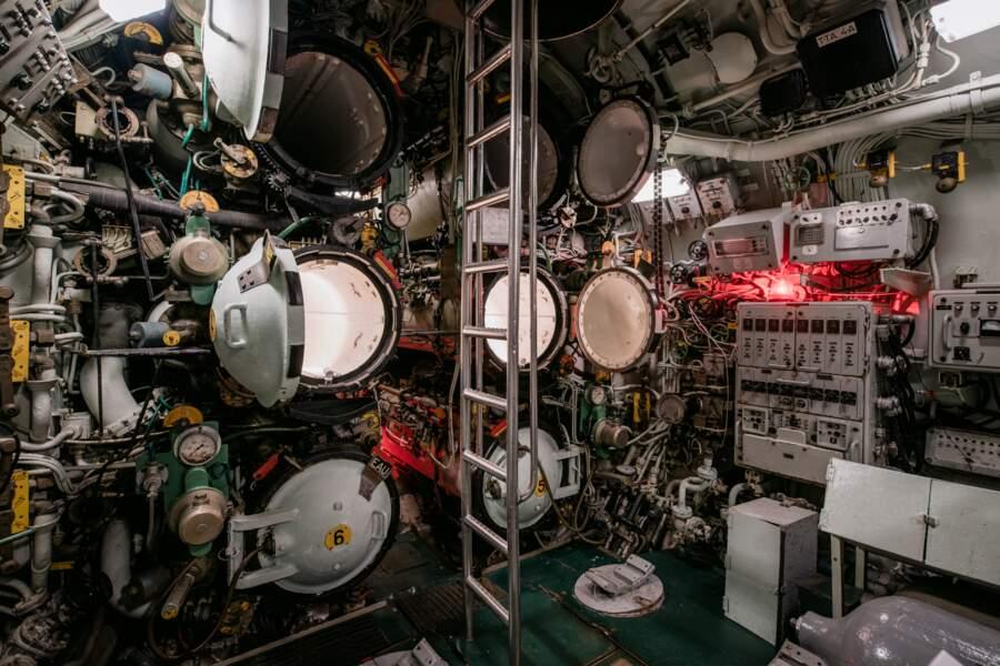 La salle des torpilles