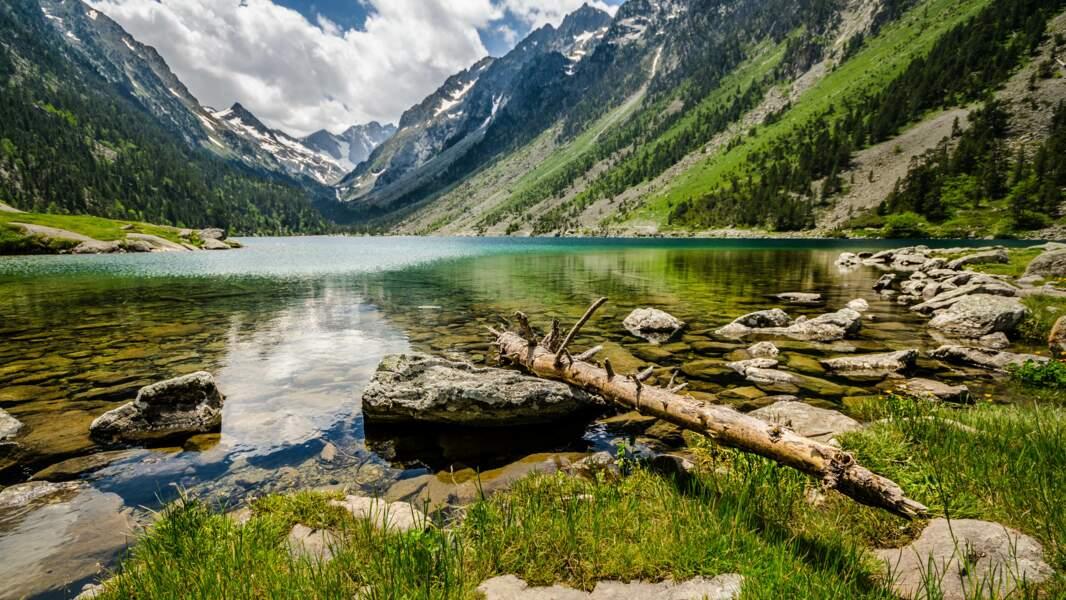 Le lac de Goube