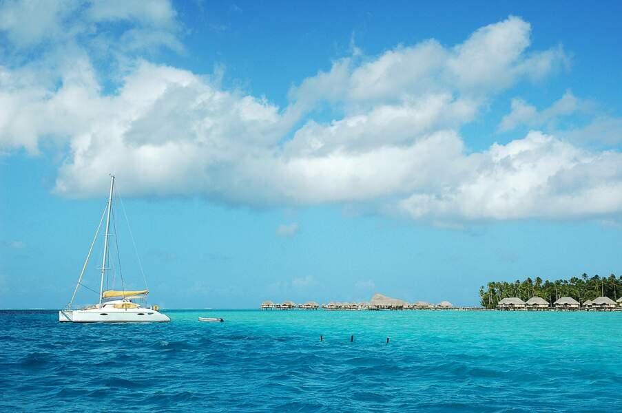L'île de Taha'a, Polynésie Française