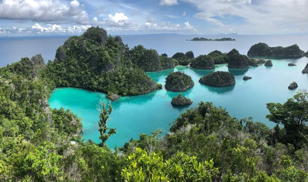 L'archipel de Raja Ampat, Indonésie