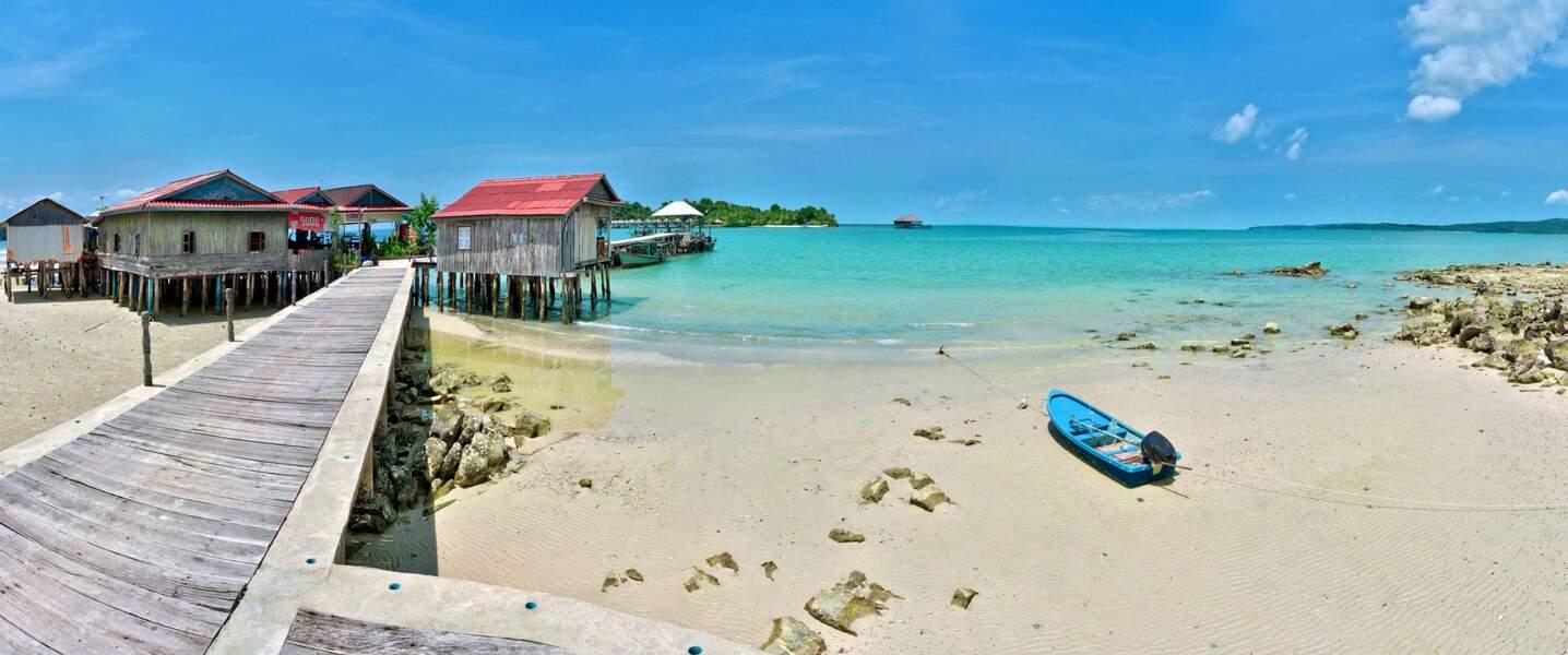 L'île de Koh Rong, Cambodge
