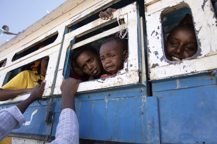 Fuir la guerre au Tigré par Nariman El-Mofty