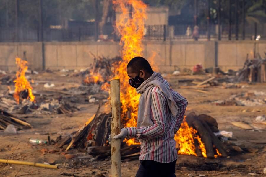 Vie et mort à New Delhi face à la deuxième vague par Danish Siddiqui