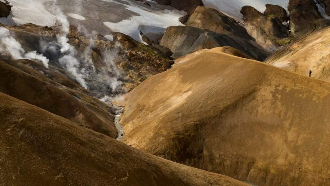 Une forte activité géothermique