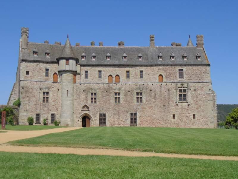Le château de La Roche-Jagu, à Ploëzal
