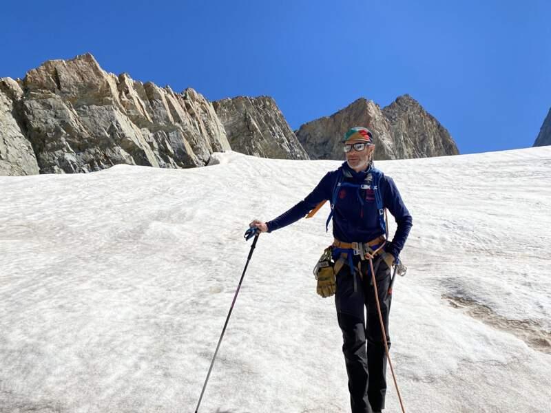 Xavier Cointeaux, président du bureau des guides de haute montagne de La Grave