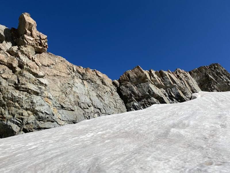 La Girose, l'une des plus importantes calottes glaciaires des Alpes du Sud