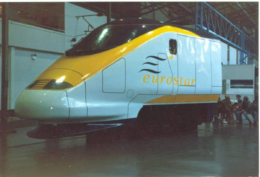 1994, le TGV sous la Manche