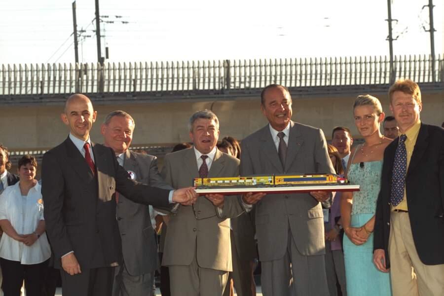 2001, TGV Méditerranée
