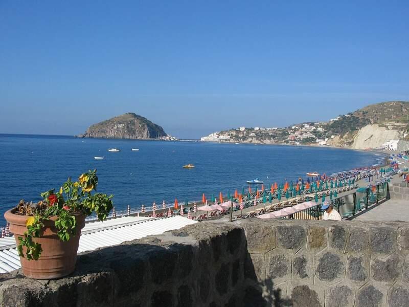 La plage des Maronti, Ischia