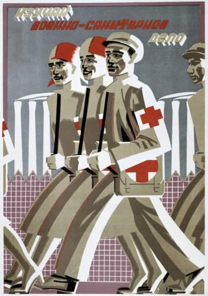 L'homme-machine, héros des affiches de Maïakovsky
