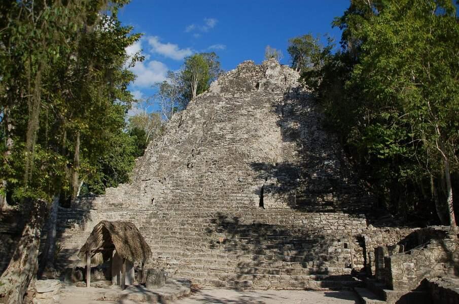 La pyramide de Cobà (Mexique)