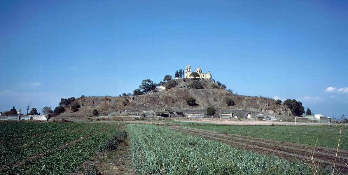 La Pyramide de Cholula (Mexique)