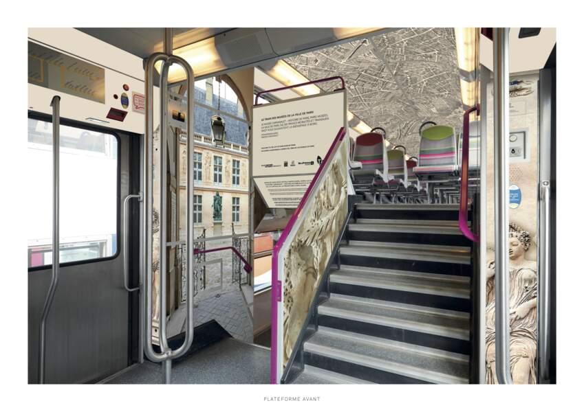 Le musée Carnavalet dans le RER C