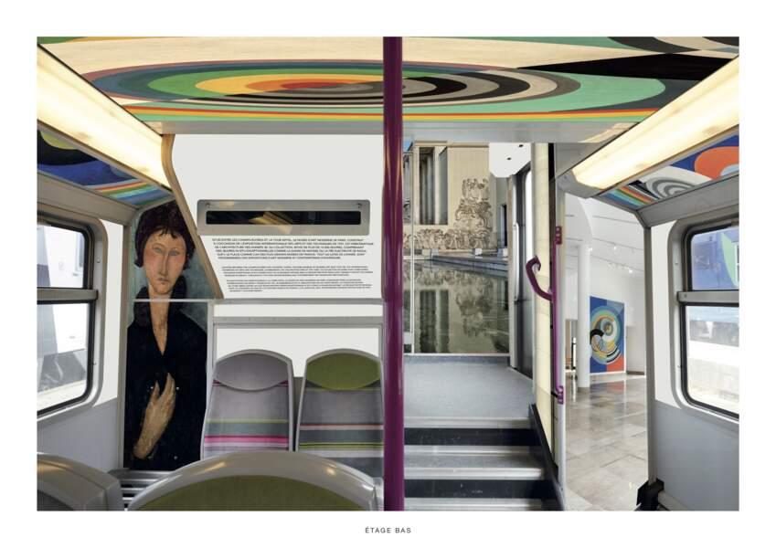 Le musée d'Art Moderne de Paris dans le RER C