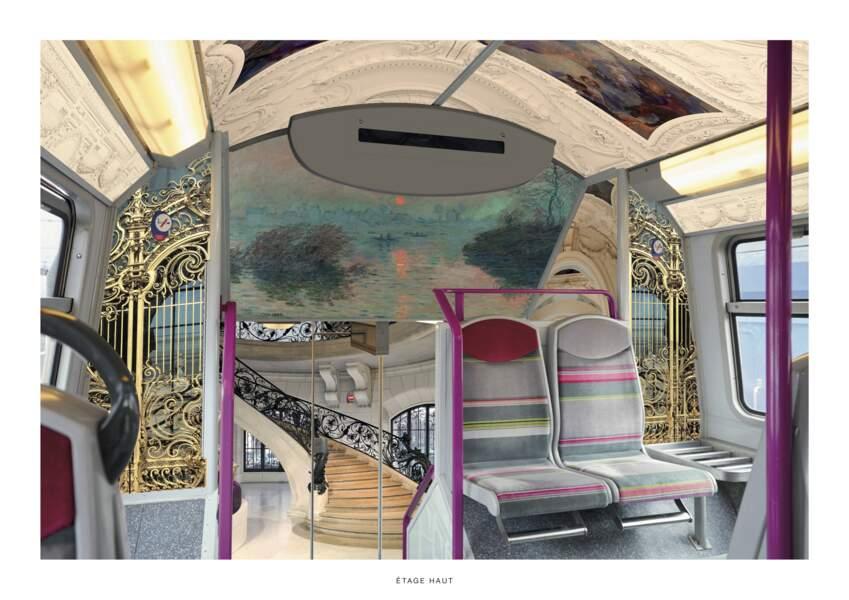 Le Petit Palais dans le RER C