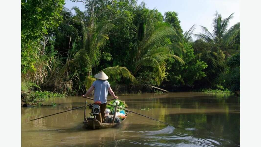 Embarcation sur la rivière Hau douce