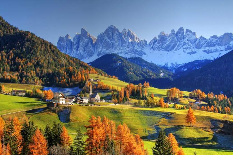 Les Dolomites en automne