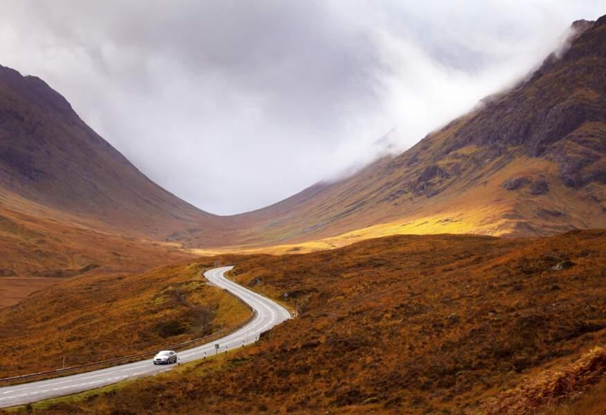 Les Highlands en automne