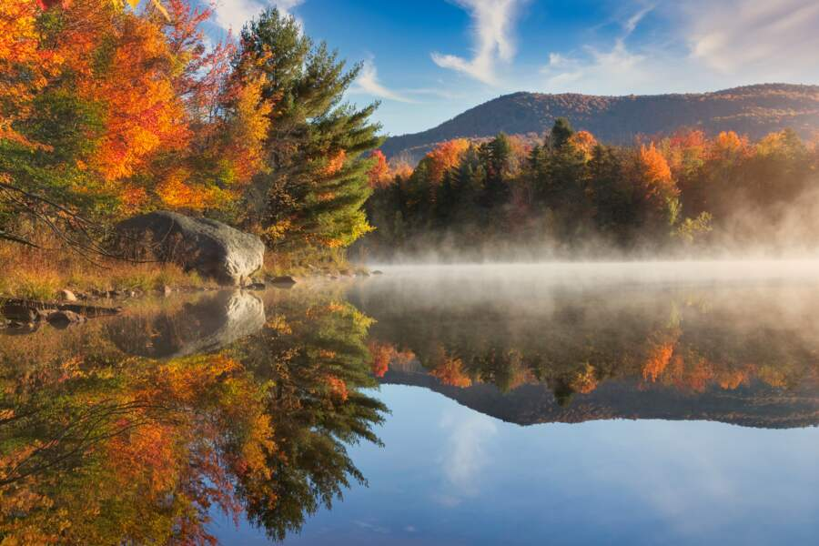 Le Vermont en automne