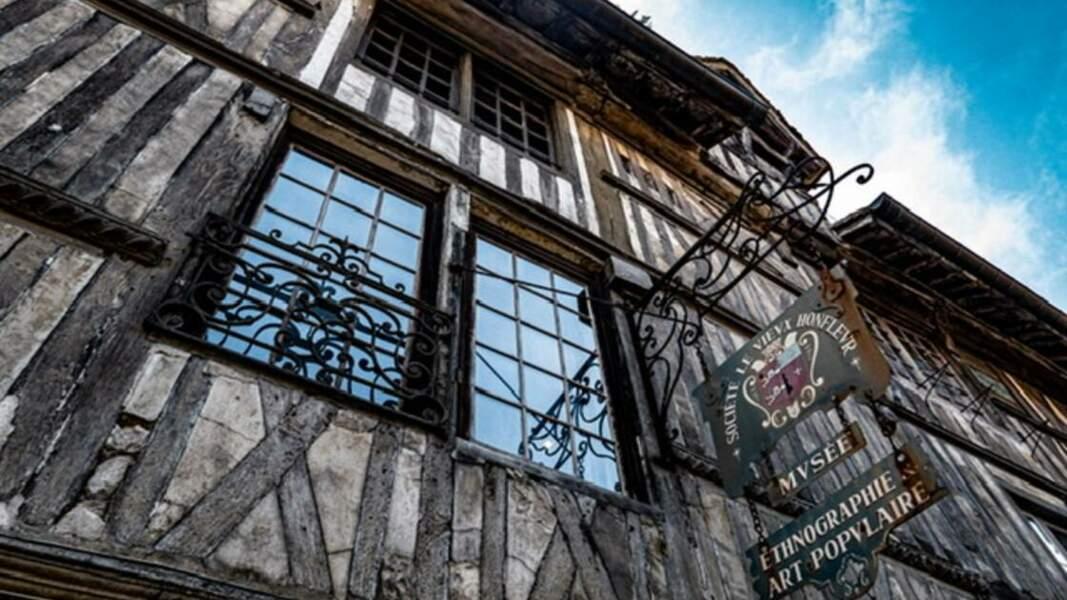 Façade du musée du Vieux Honfleur