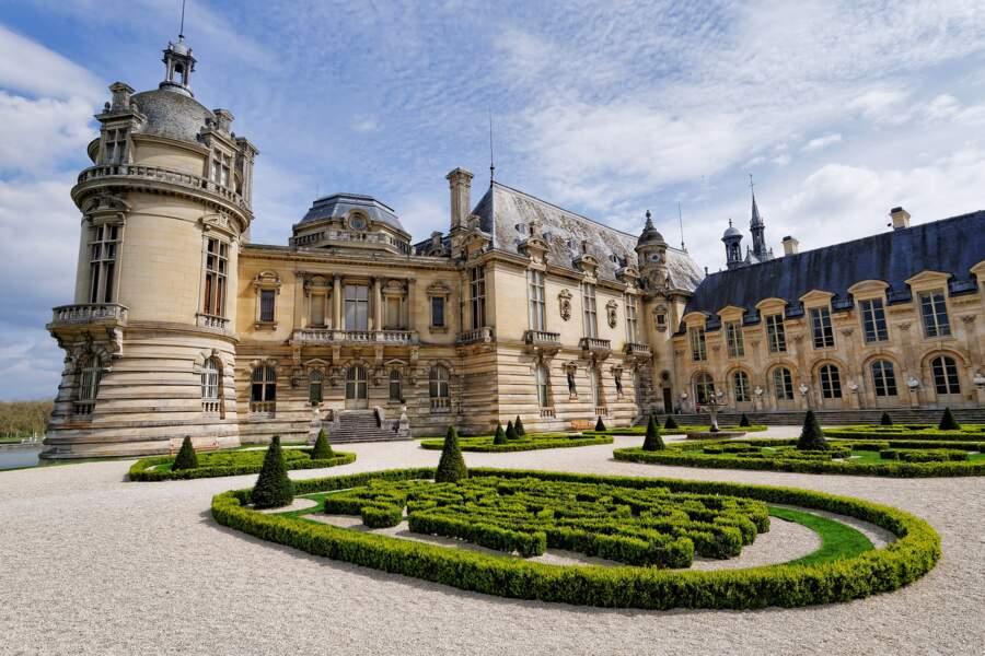 7- Le château de Chantilly